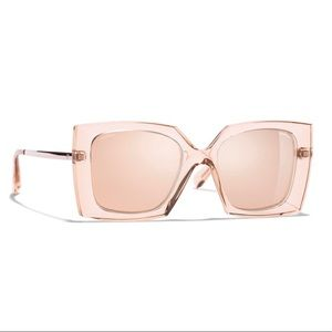 NEW, AUTHENTIC, CHANEL, Square-Frame Sunglasses